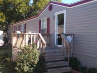 2007 Mobile Home for Sale in Edmond at Apple Village.