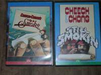 2 Cheech & Chong DVDs, Up In Smoke and Still Smokin, $8