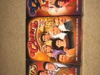 Like-new, complete DVD sets of the first three seasons