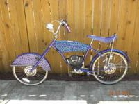 Cheetos Chester Motorcycle Bike chopper cruiser bicycle
