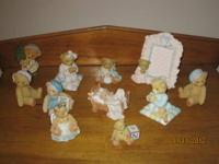 We have a collection of (10) Collectible bears to