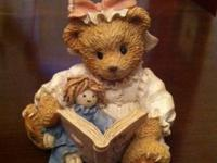 Cherished Teddies are 1992 thru 1995 asking  1)