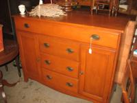 This beautiful cherry buffet is in great condition,