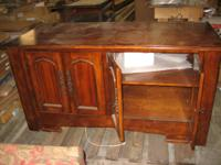 "Cherry Cabinet with deep base, 62""l x 29""w x 32""h. sale"