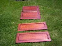 NEW CABINET DOORS CHERRY--2EA. 13 X 28------2EA--14 X