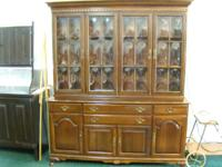 CASH ONLY! Dealers Welcomed!  Ethan Allen solid cherry