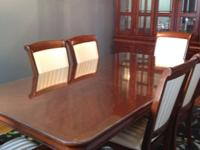 Type: Dining RoomType: dining-room table, chairs, china