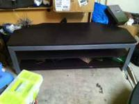 Cherry dinner table $500, TV stand $65, table with