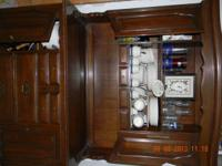 Cherry hutch. It is a beautiful piece of furniture.