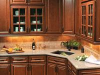 Brand New - Premium grade cherry kitchen cabinets.