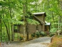 """Mountain Top Living! Escape It All- 2br, 2ba """"real"""" Log"""
