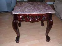 2 End Tables Very Nice / Doubt you can find these in a