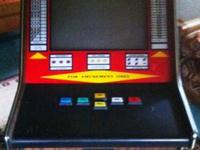 Description:.  This video poker machine is from the