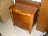 I HAVE A VERY NICE SIDE TABLE FOR SALE. CHERRY IN