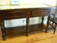 Beautiful, solid cherry sideboard in excellent