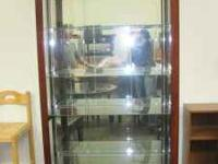 For Sale: Very nice cherry wood china cabinet for $599