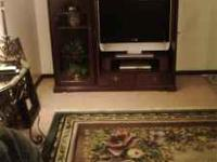 Nice Broyhill Entertainment Center. Cherry wood with