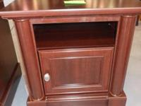 Cherry finish end table/nightstand. Procedures 231/2""