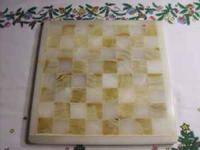 Onyx chess board. Contact  Location: Eight Mile