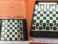 Travel Chess & Draught Play chess and draughts - on the