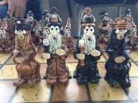 A fantastic Renaissance Chess Set for sale.  This set