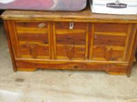 Pine chest needs a little work 100.00