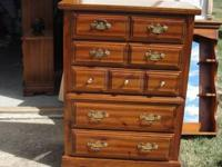 A broyhill 5 drawer chest measures 47HX34LX18D