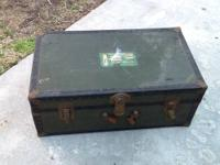 This ANTIQUE CHEST IS REALLY REALLY OLD. Unfortunately