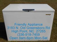 Chest Freezer - $125 Our Home Based Business is Open