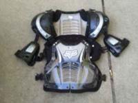Chest protector good shape $50.00 obo  leave msg. ----