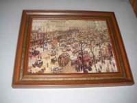 I have 2 framed print reproductions from The