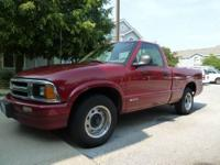 This is a 1996 Chevy S-10 the truck has 122,XXX miles