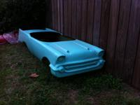 I have for sale a go kart body of a Chevrolet (chevy)