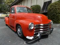 1949 Chevrolet 3100 5 Window Pick Up truck restored a