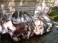 Ran, and shifted well when removed. 350 Chevy engine,