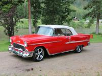 1955 Chevy Bel Air -Power steering, power breaks, power