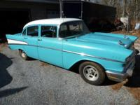 Car is Running in the Photos original 1957 Chevrolet