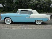 1955 Chevrolet Belair V8 convertible!!! This turquoise
