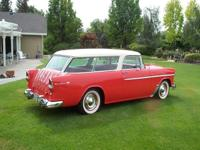 1955 Chevrolet Belair Nomad Trim 544 Paint 615 Going to