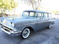 Extra clean 1957 Chevy belair Station wagon. Original