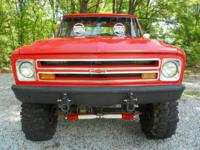 1967 Chevrolet C/K 10 4x4 SWB This truck is in very