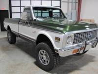 You are looking at a beautiful 1972 Chevy C-20 Chyenne