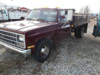 1989 Chevrolet C3500 1 Ton Truck with a diesel engine