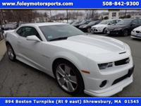 2012 Chevy Camaro 2 SS Coupe... Summit WHITE on GRAY