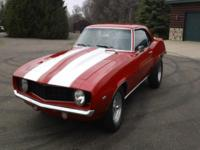 I Am Selling A 1969 Chevrolet Camaro That Is A Very