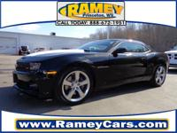 This is a great 2011 Camaro coupe SS. We're offering a