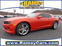 This 2012 Chevrolet Camaro SS might just be the coupe