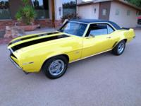 1969 Chevrolet Camaro SSMileage: 69027Brand new crate