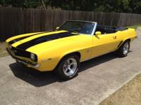 Summer is here and this 1969 Chevrolet Camaro SS