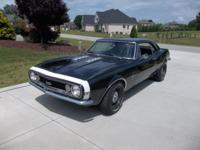 1967 camaro 396 v/8 4 speed runs drives great nice